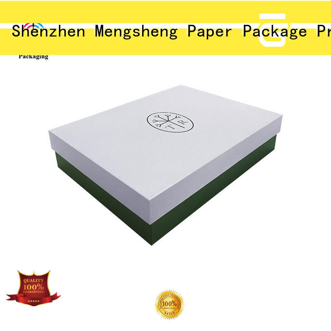 small cardboard boxes with lids ecofriendly chocolate packing Mengsheng