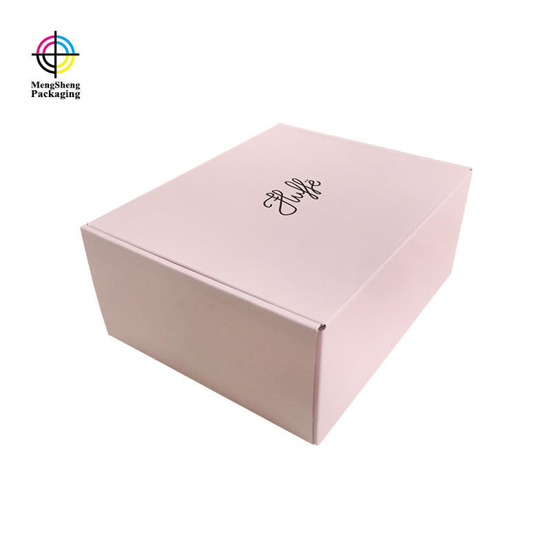 stamping custom shipping boxes eco friendly Mengsheng-2