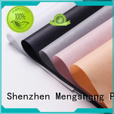 Mengsheng Brand paper good logo colored tissue paper manufacture