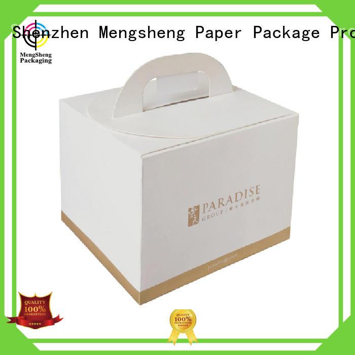 Mengsheng size cupcake packaging kraft at discount