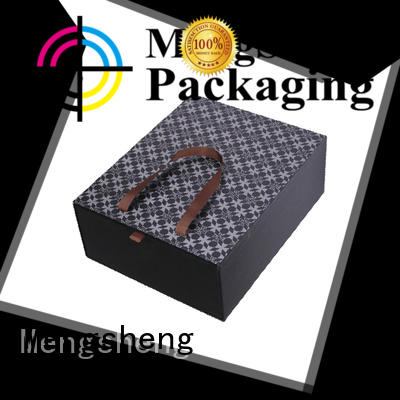 Mengsheng high-quality round gift box rectangular top brand
