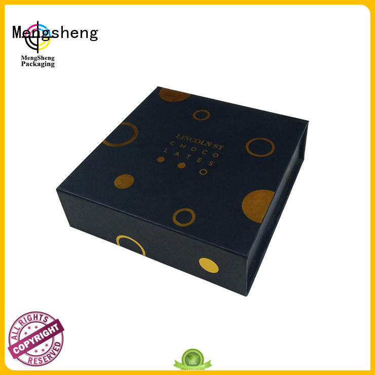 orange magnet book Mengsheng Brand magnetic gift boxes wholesale factory