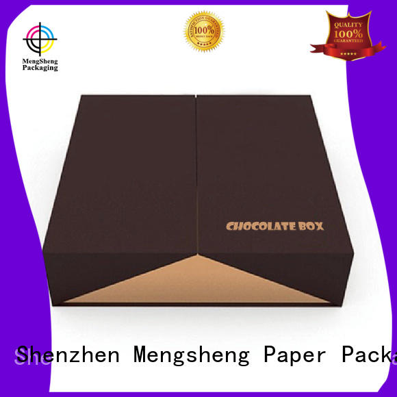 empty gift boxes for chocolates magnetic for sale Mengsheng