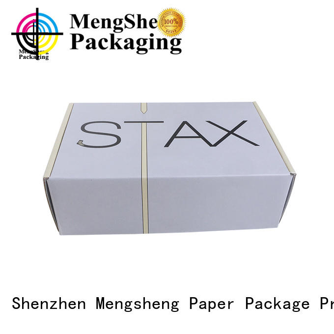 high quality corrugated box price stamping shoes packing eco friendly