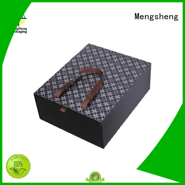 christmas present box round tube for wholesale Mengsheng