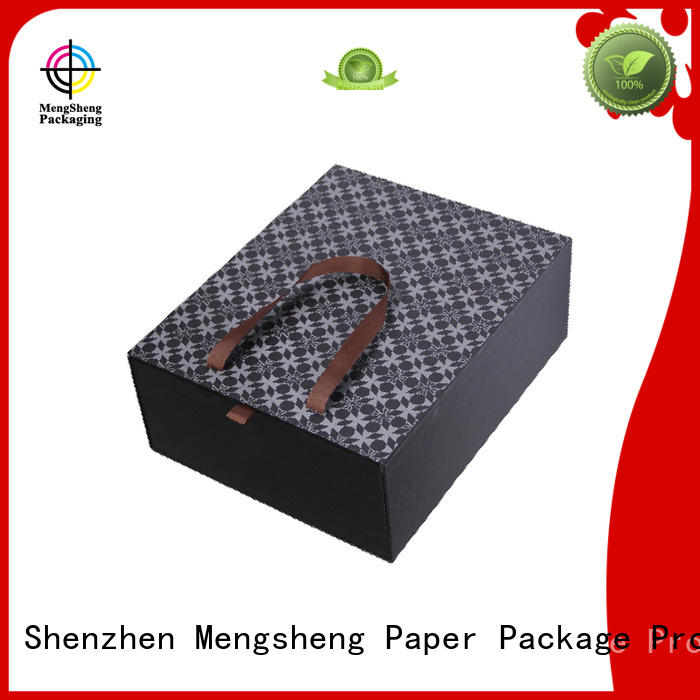 Hot large gift boxes with lids boxes Mengsheng Brand