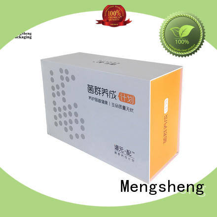 hot-sale magnetic lock box folding design clothing shipping Mengsheng