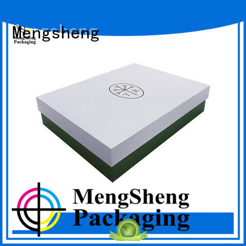 lid base gifts Mengsheng Brand decorative cardboard boxes with lids factory