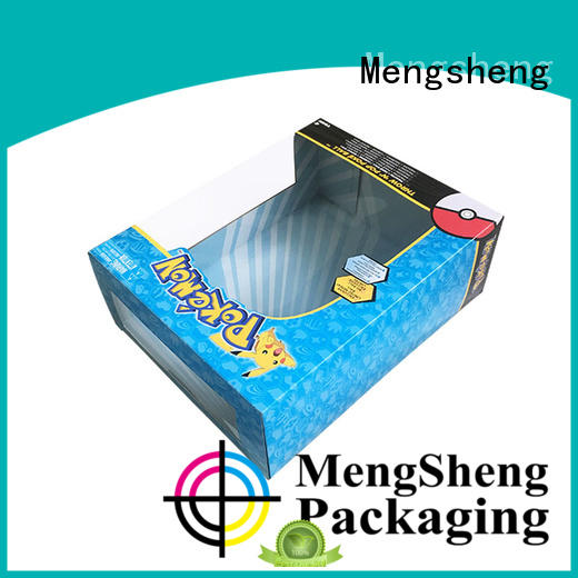 Mengsheng wholesale toy packaging box on-sale with ribbon