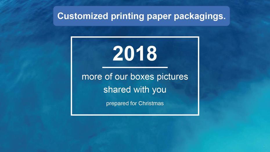 Christmas packagings