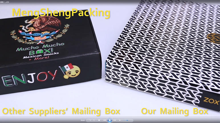 Mailing Box Custom Mail Packaging