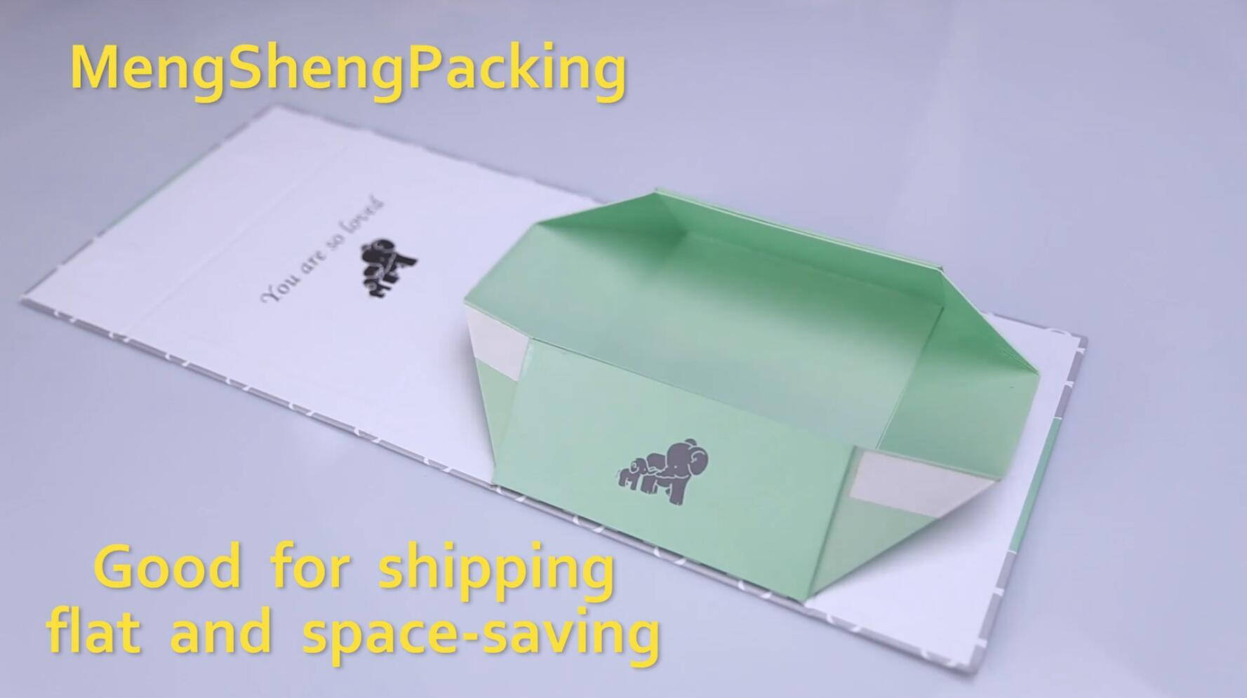 Custom Made Packaging Foldable Paper Box