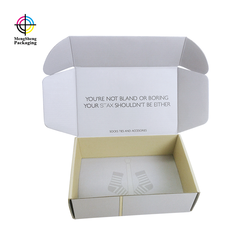 round tube custom shipping boxes corrugated clothing packing convenient-2