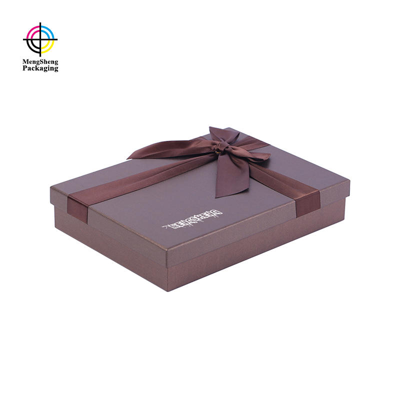 Custom paper gift box for packaging