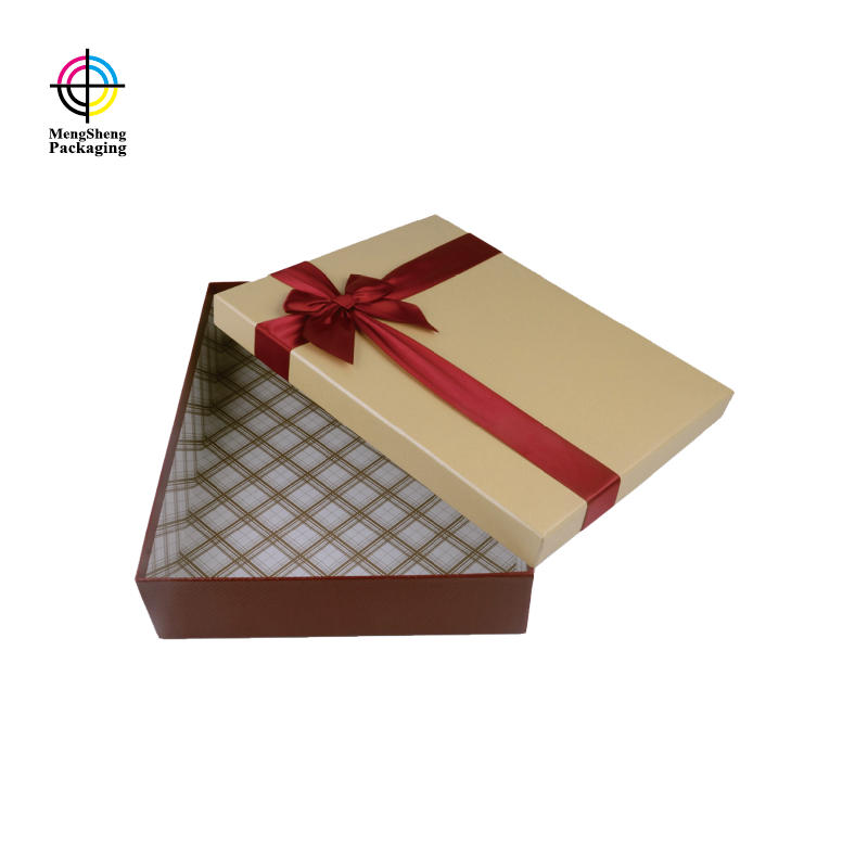 Mengsheng imprinted custom product boxes reversible
