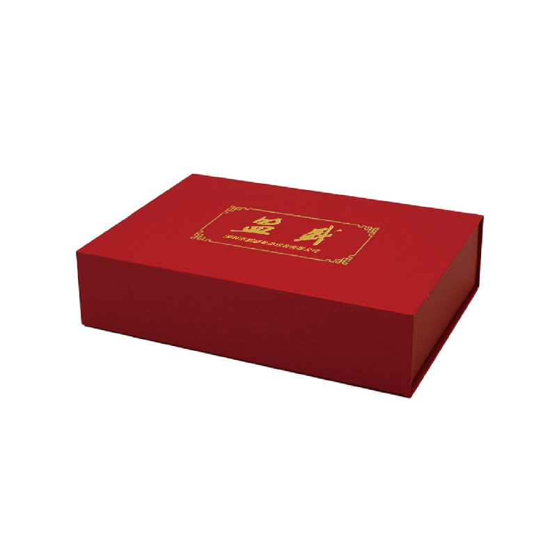 Mengsheng magnetic closure round gift box kraft for wholesale-1