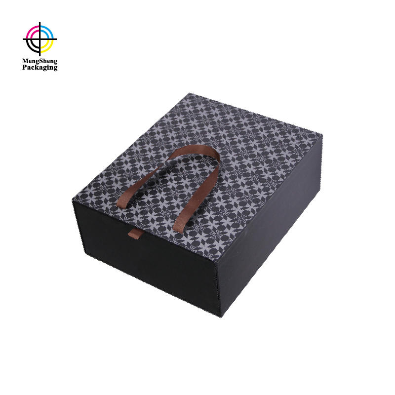 Mengsheng magnetic closure decorative christmas gift boxes with lids high-quality