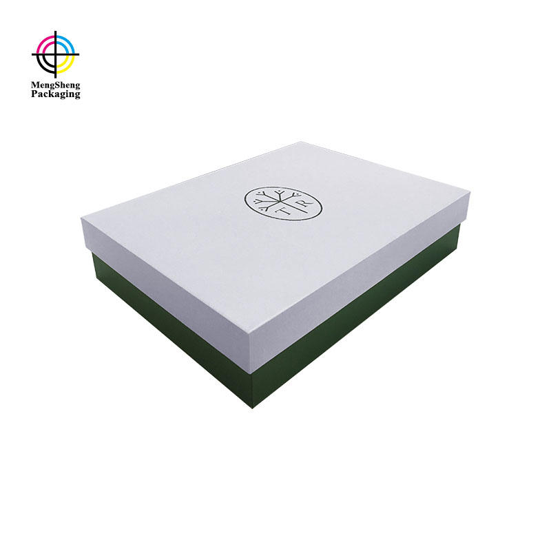 Hot sales white lid and base box with high quality EVA tray for gifts