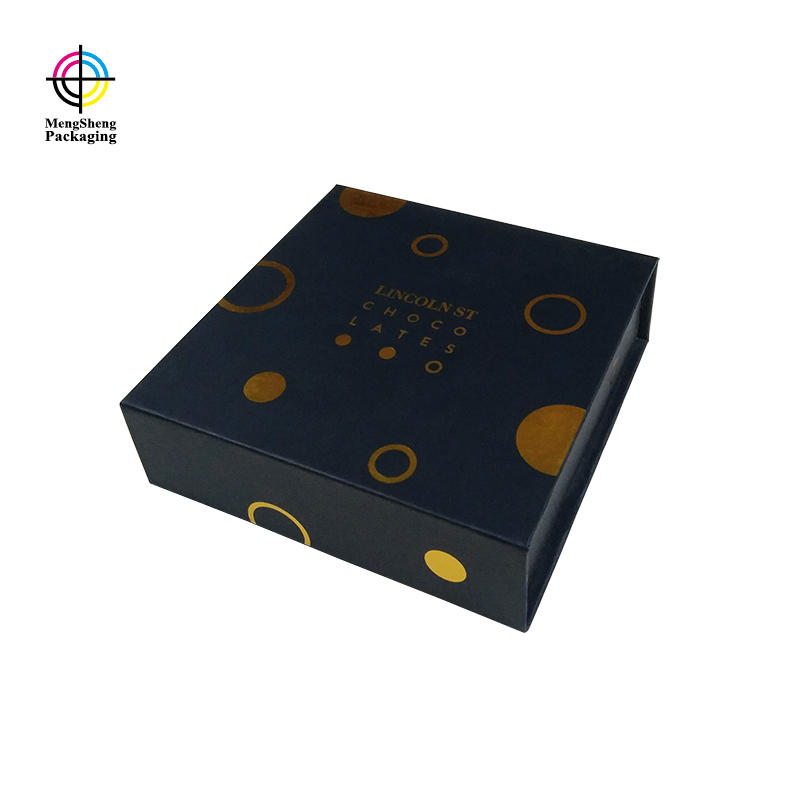 Customized Book Paper Magnetic Closure Box Suppliers With Black Sponge Foam