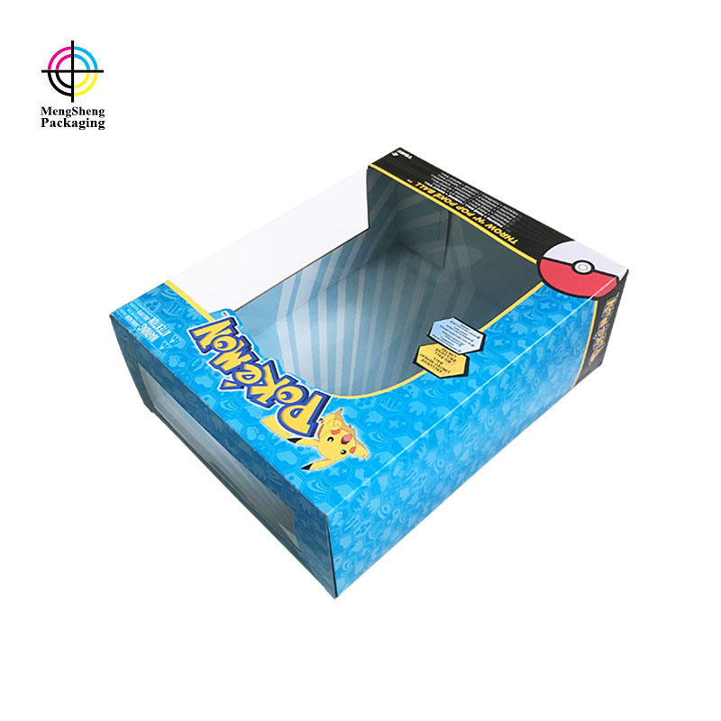 Custom Toy Packaging Box Packaging With PVC Window For Kid Plaything
