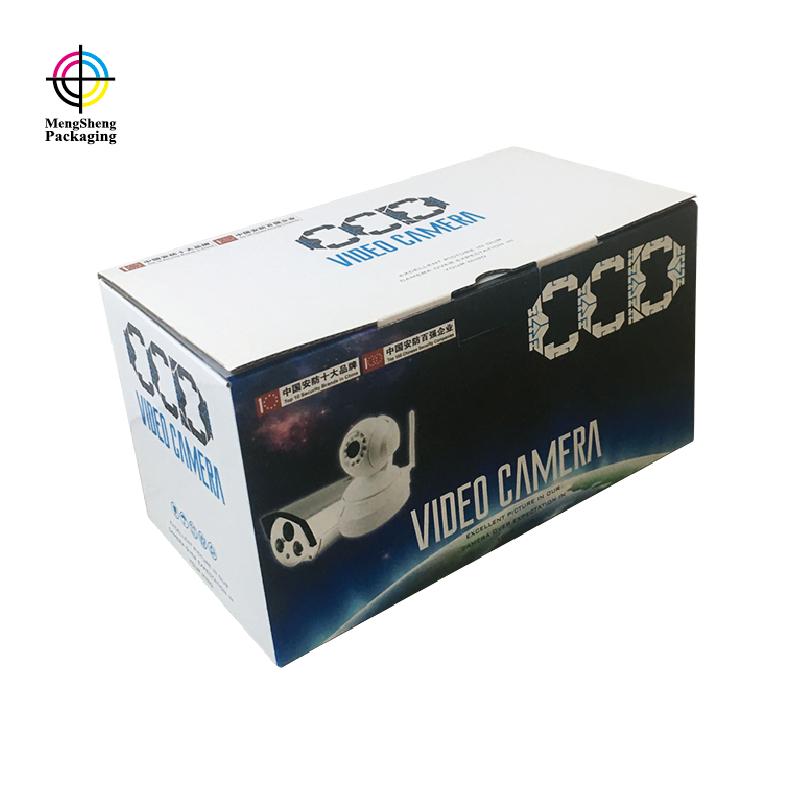 Mengsheng multifunctional cardboard cube logo printed garment packing-1