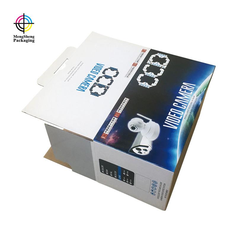 Mengsheng multifunctional cardboard cube logo printed garment packing-2