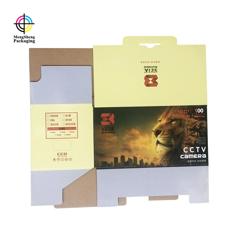 Mengsheng hot-sale cardboard tray box easy closure garment packing-5