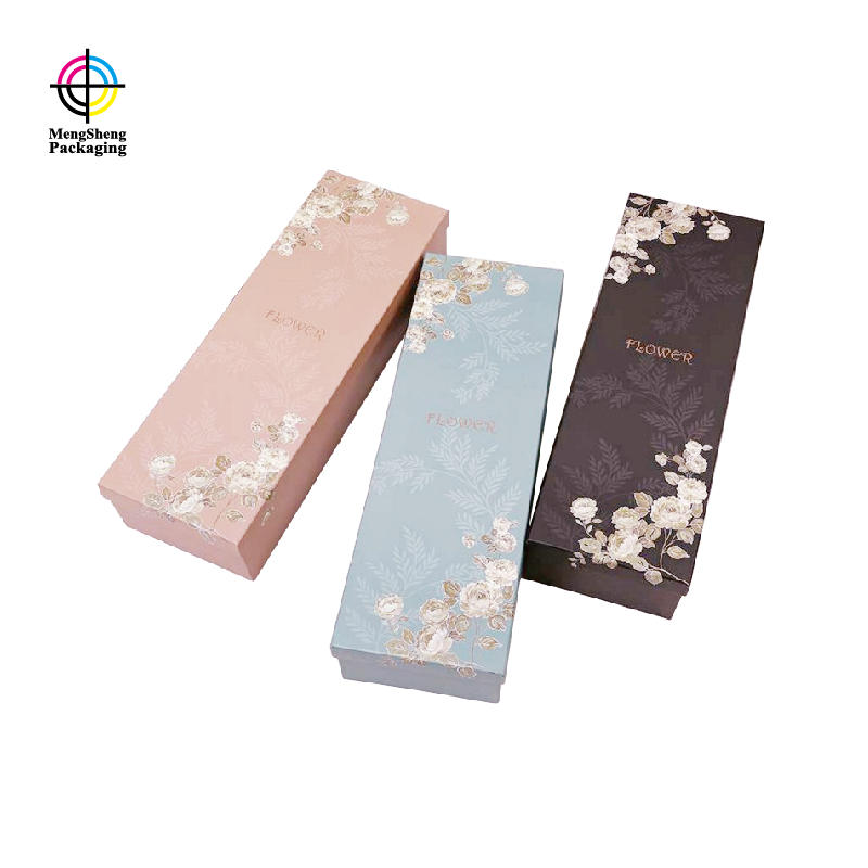 Professional factory wholesale custom made eco paper luxury flower gift packing box