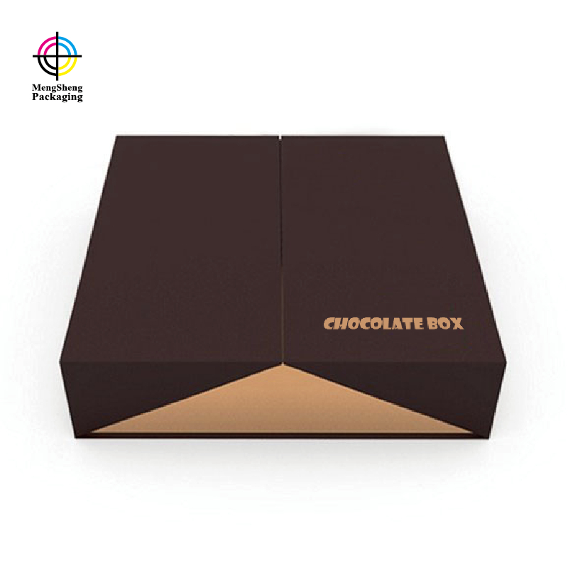 Mengsheng piece boxes of candy natural kraft paper for storage-1
