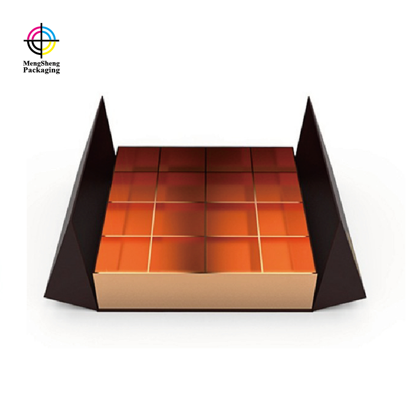Mengsheng piece boxes of candy natural kraft paper for storage-2