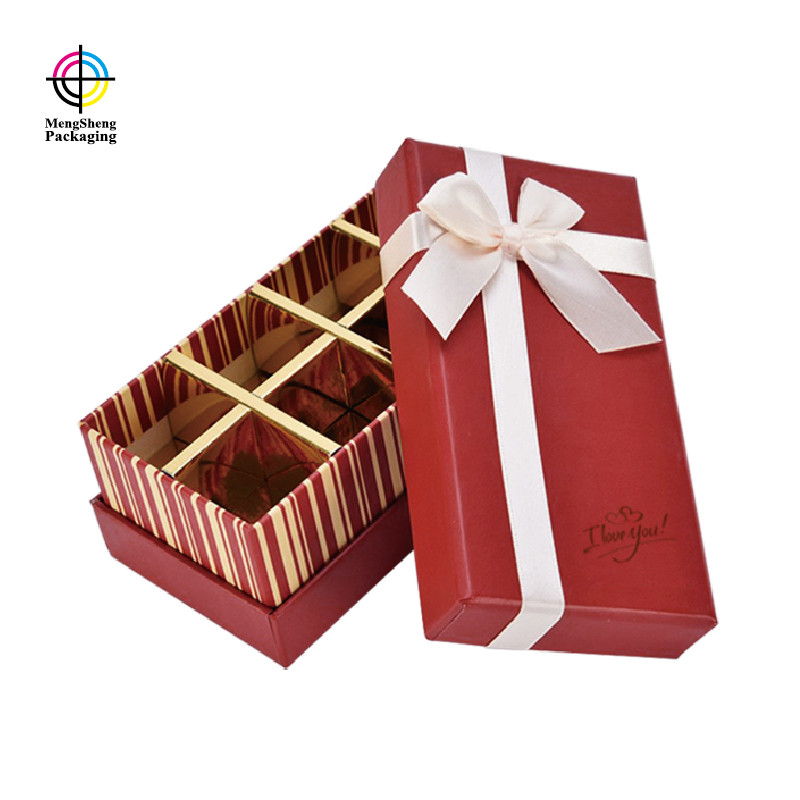 Mengsheng luxury empty chocolate boxes waterproof for storage-3