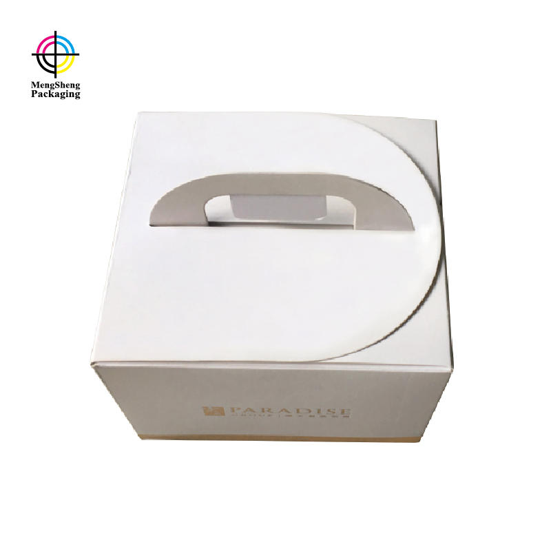 Mengsheng magnetic closure giant cupcake box customized top brand