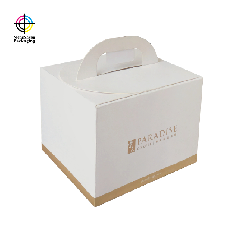 Mengsheng magnetic closure giant cupcake box customized top brand-4