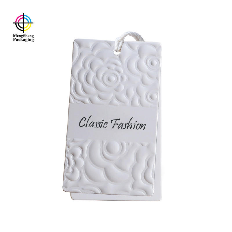 Professional Factory Custom T-Shirt Clothing Garment Printed Paper Gift Tags