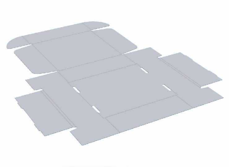 Mailing Box Custom Made Packaging