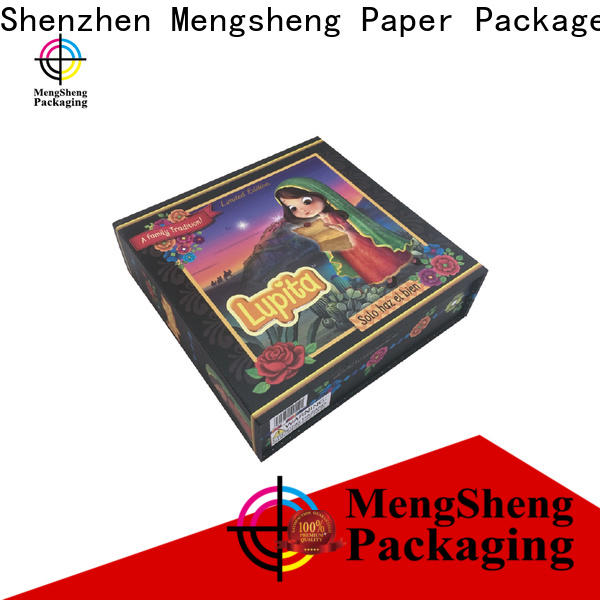 Mengsheng waterproof easy fold boxes shipping clothing garment packing