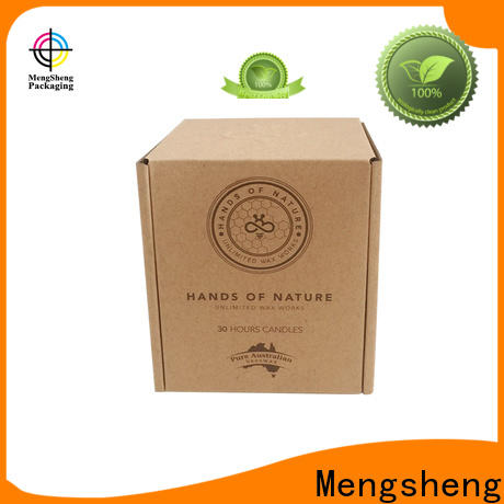 Mengsheng wine bottles corrugated suppliers double sides eco friendly