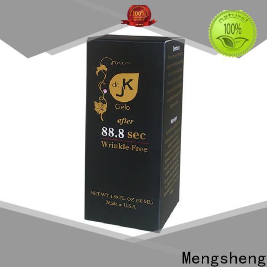 Mengsheng rigid perfume sample box at discount bulk producion