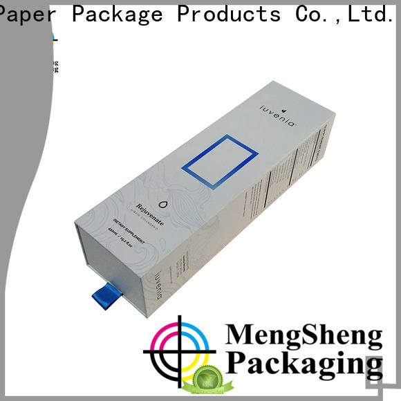 Mengsheng custom color kraft slider box with lid at discount