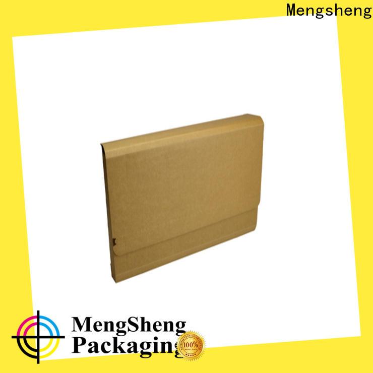 Mengsheng round tube corrugated box sizes eco friendly