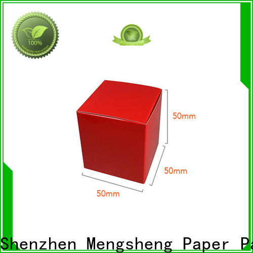 Mengsheng removable small paper boxes folding design for toy storage