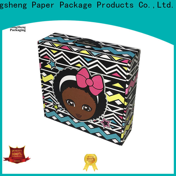 high quality mailing box corrugated shoes packing custom design