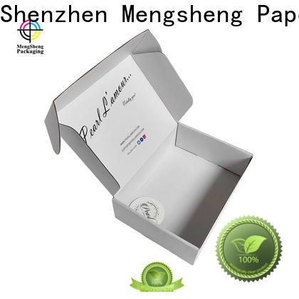 Mengsheng stamping corrugated carton box convenient