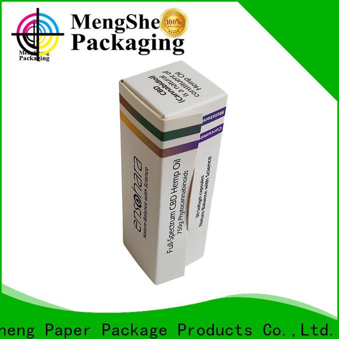 Mengsheng folding hair box cheapest price top brand