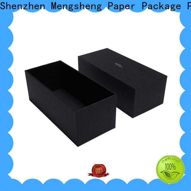 Mengsheng stamping cardboard boxes with lids ribbon design for wholesale
