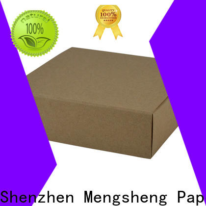 Mengsheng high-quality fancy gift boxes rectangular for wholesale