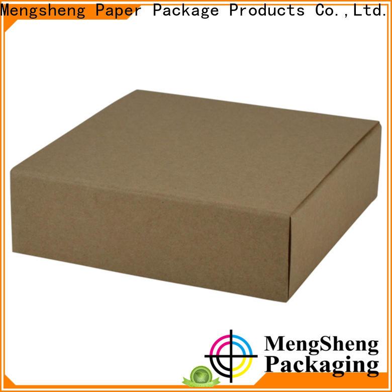 Mengsheng headphones packaging 2 piece box luxury chocolate packing