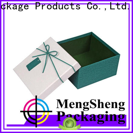 Mengsheng sturdy cardboard boxes with lids special chocolate packing