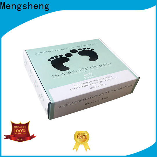Mengsheng strong corrugated suppliers shoes packing custom design