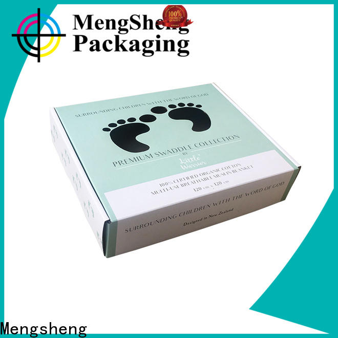 Mengsheng packaging pet toy box on-sale with ribbon